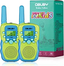 Sponsored Ad - Walkie Talkies for Kids, 22 Channels 2 Way Radio Kid Toy 3 Miles Long Range with Backlit LCD Flashlight Bes...