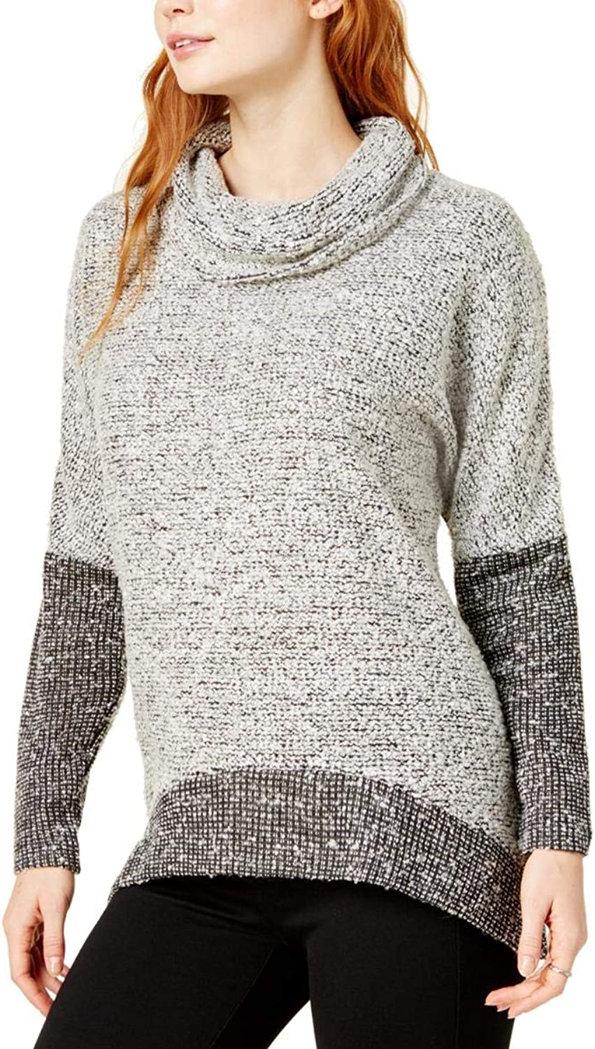 Bar Iii Womens colorblocked Knit Sweater