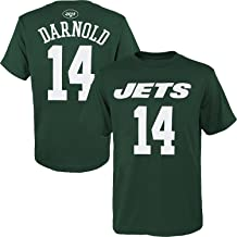 OuterStuff Sam Darnold New York Jets #14 Youth Name & Number Player T-Shirt