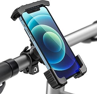 Tisoutec Soporte Movil Bici 360° Rotación Soporte Movil Moto Bicicleta para iPhone / Samsung / XIAOMI / Huawei Serie Teléf...