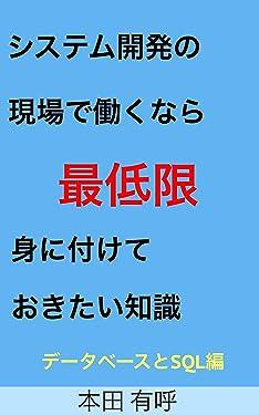 SIsutemu kaihatu no genba de hatarakunara saiteigen minituketeokitai chisiki database to sql hen (Japanese Edition)