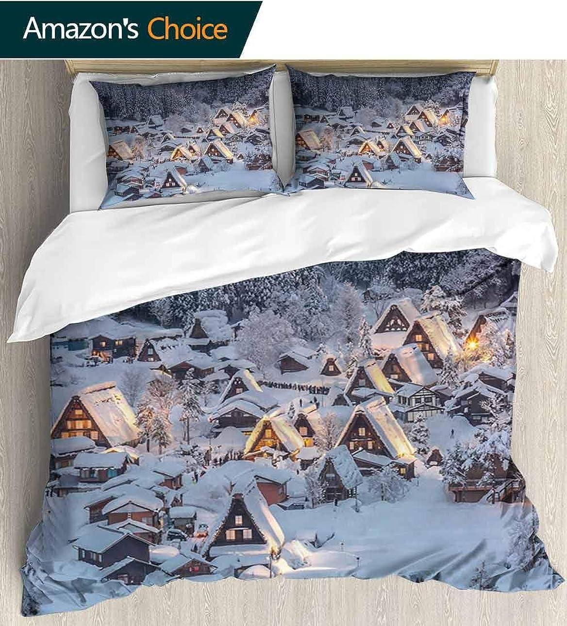 見つけたオン空shirlyhome クジラ 寝具 ベッドスプレッド クジラ ボート アイランド アンカー タコ ジェリーフィス カラフルな花柄プリント - 3ピース 灯台とビーチテーマ 漫画アート Queen - 87