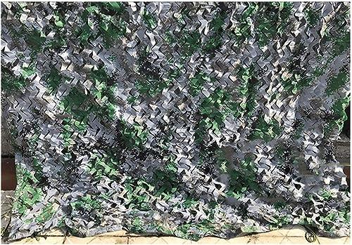 WANGZI Filet de Camouflage extérieur Filet de Camouflage extérieur, Toile de Camping Sauvage, pour Camouflage Solaire, Multi-Taille en Option, Couleur numérique Dschungeltarnnetz (Taille   10  10M)