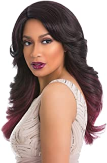 Sensationnel Synthetic Lace Front Wig Empress Edge Natural Curved Part Lovely (SM1B/99/BG)