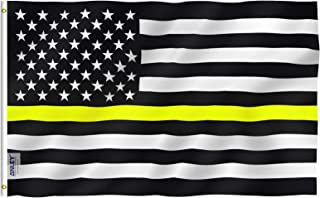 Best thin yellow line flag Reviews