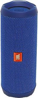 JBL FLIP 4 IPX7 Waterproof Wireless Portable Bluetooth Rechargeable USB Speaker (Blue) (Renewed)