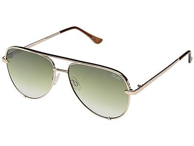 QUAY AUSTRALIA High Key Mini QUAY X DESI (Rose/Green Fade) Fashion Sunglasses
