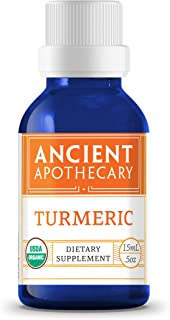 Turmeric Organic Essential Oil from Ancient Apothecary, 15 mL - 100% Pure and Therapeutic Grade