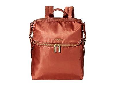 Hedgren Paragon Medium Backpack (Rosewood) Backpack Bags
