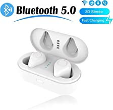 Bluetooth Headsets 5.0 Wireless Earbuds 3D Stereo Headphones IPX5 Waterproof Sport Built-in Noise Reduction Microphone With Quick Charging Case Compatible With IPhone Android Airpods Apple Samsung