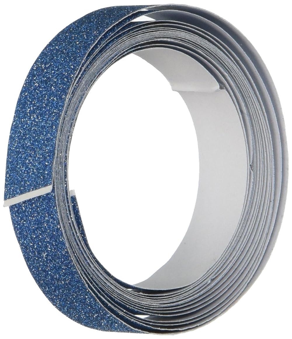 DARICE 121719 3-Yard Sparkle Tape, 15mm, Blue