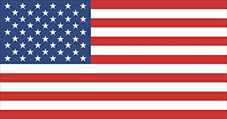 Rogue River Tactical 12x6 Large American USA Flag Car Truck Window Decal Sticker Patriotic Auto Bumper Sticker Vinyl for Car Truck RV SUV Boat Support US Military
