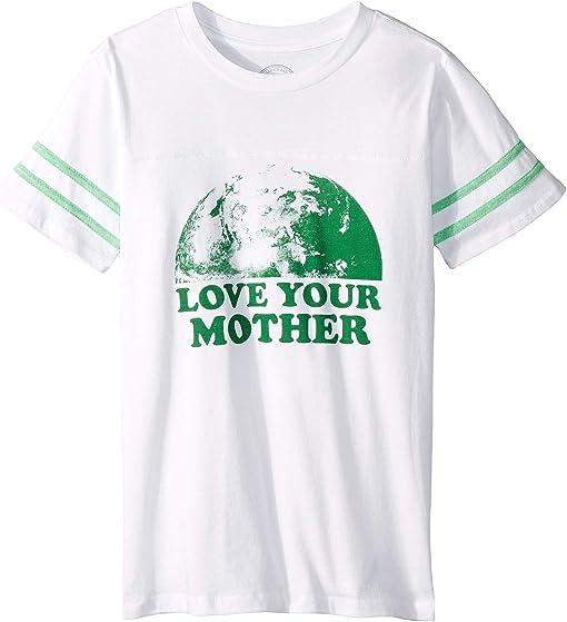 White/Tri Green