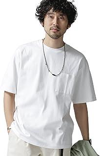 ナノ・ユニバース(nano・universe) Anti Soaked ヘビークルーネックビッグTシャツ