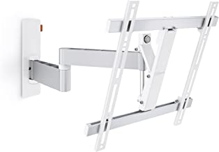 Vogel's TV Wall Mount, 180° Swivel and Tilt - WALL 2245 W for 32 - 55 inch TVs, White