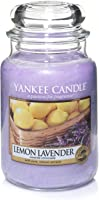 YANKEE CANDLE Jar Scented Candle, Lavender, Large 22-Ounce, 1073481EZ