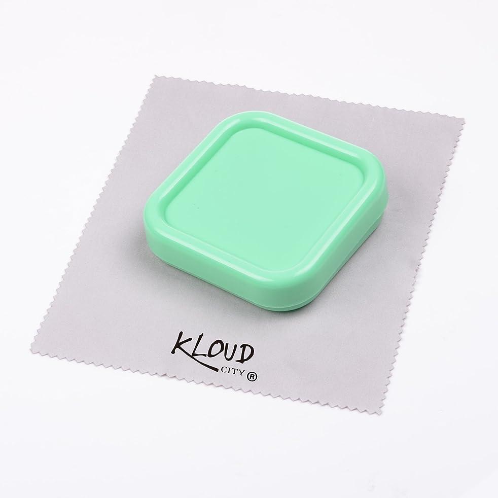 KLOUD City Light Green Magnetic Pin Cushion, Pincushion, Pin Holder, Pin Caddy, Pin Storage Case