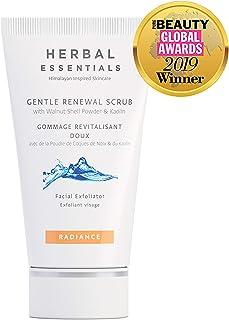 Herbal Essentials Gentle Renewal Scrub with Walnut Shell Powder & Kaolin 75ml