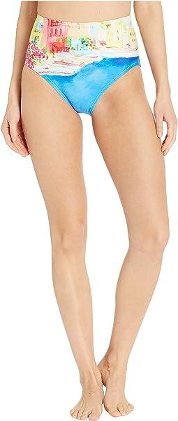 Ocean Grove High-Waisted Bikini Bottoms