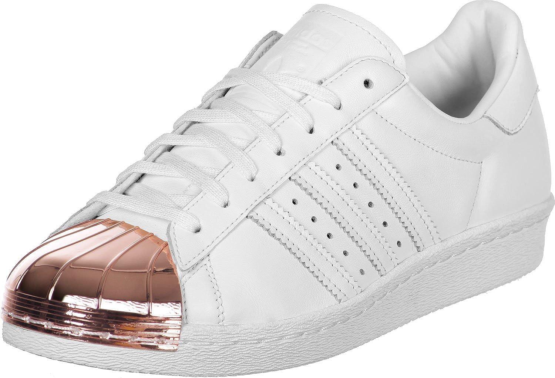 Adidas Women's Superstar Metal Toe Low-Top Sneakers