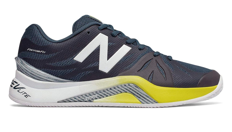 [ニューバランス] メンズ 男性用 シューズ 靴 スニーカー 運動靴 MCH1296v2 Tennis - Petrol/Limeade [並行輸入品]