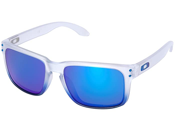 Oakley Holbrook (Sapphire Mist w/ Prizm Sapphire) Sport Sunglasses