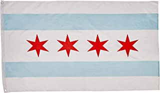 Extracart 3'x5' Flag of The City of Chicago, Illinois IL