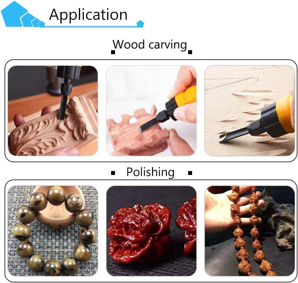 YJINGRUI M/áquina de talla de cincel el/éctrica M/áquina de talla de madera Cincel para trabajar la madera Anfitri/ón + Cincel + eje 220V