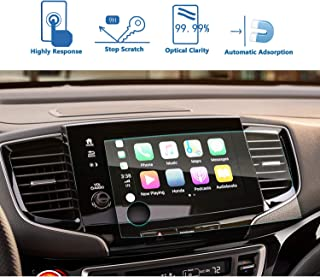 2019 Pilot 8-Inch Car Navigation Screen Protector Tempered Glass Audio Infotainment Display Center Touch Protective Film Scratch-Resistant, LFOTPP High Clarity