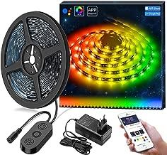 DreamColor Música LED steifen con aplicación, Minger 3 m Música TV retroiluminación LED usb Luz Cadena trasero TV farbenändernde iluminación LED para Bias iluminación de HDTV Monitores
