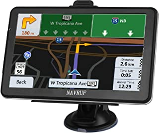 GPS Navigation for car, 7-inch HD 8GB Voice Prompt GPS Navigation System, Built-in North America map Contains (USA, Canada, Mexico Map) Lifetime Map Free Updates