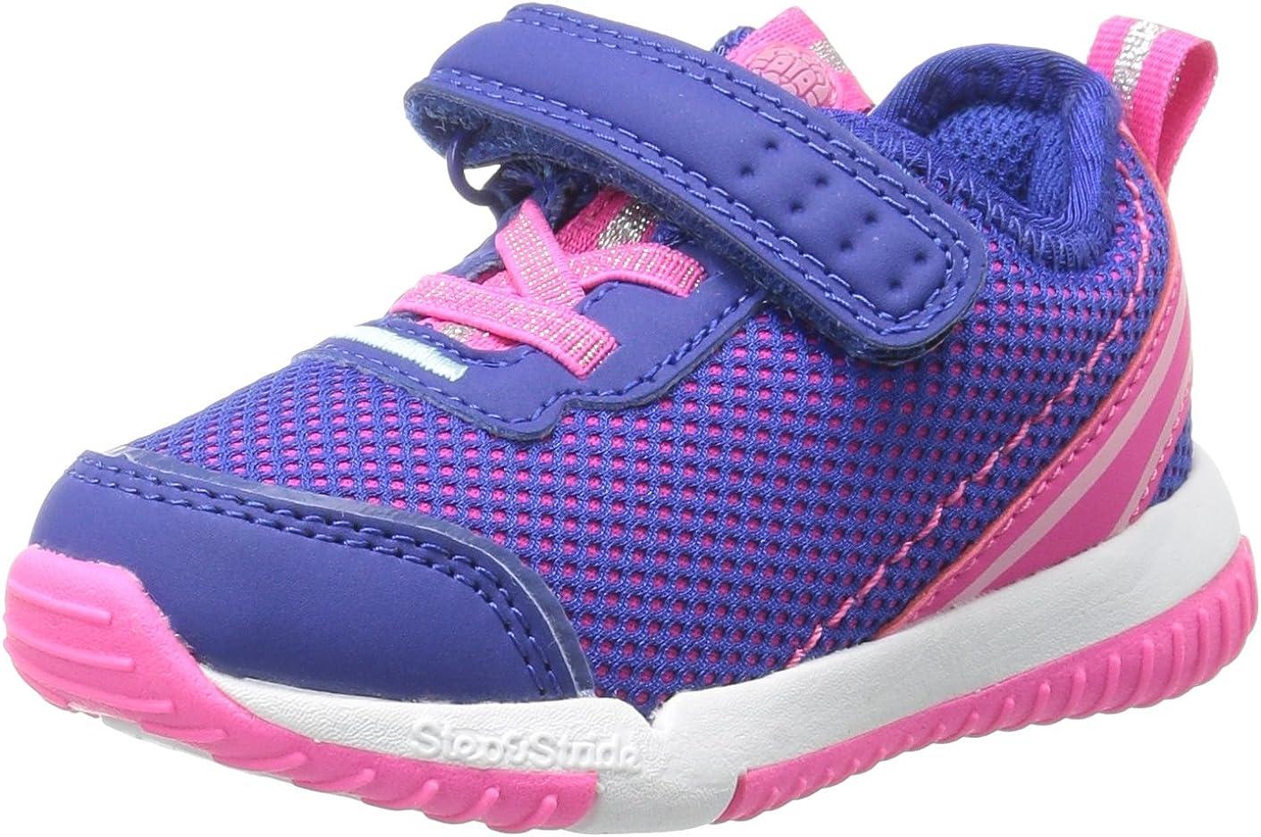 Step  Stride Unisex-Child Girl's Inche Mesh Athletic Sneaker