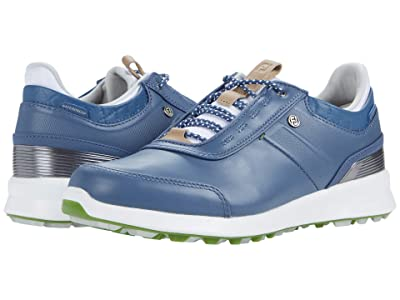 FootJoy Stratos Spikeless Luxury Casual (Blue) Women