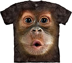 Best big face baby orangutan t-shirt Reviews