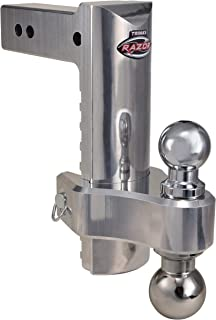 Trimax TRZ10ALHD Heavy Duty Aluminum, 20,000 LB Rated, 10 Inch Dropped Hitch
