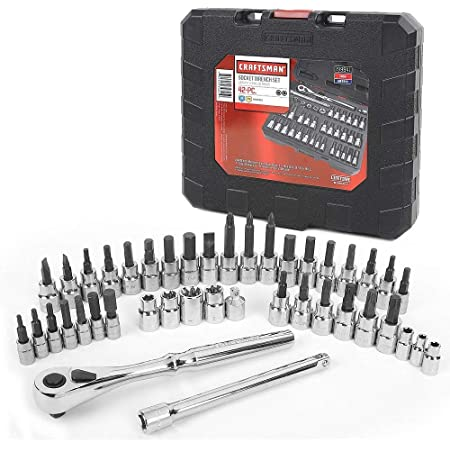 Craftsman 42 pc. Hex and Torx Bit Socket Super Set, 1/4 and 3/8 in. Drives