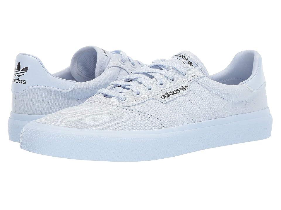Image of adidas Skateboarding 3MC (Aero Blue S18/Core Black/Aero Blue S18) Men's Skate Shoes