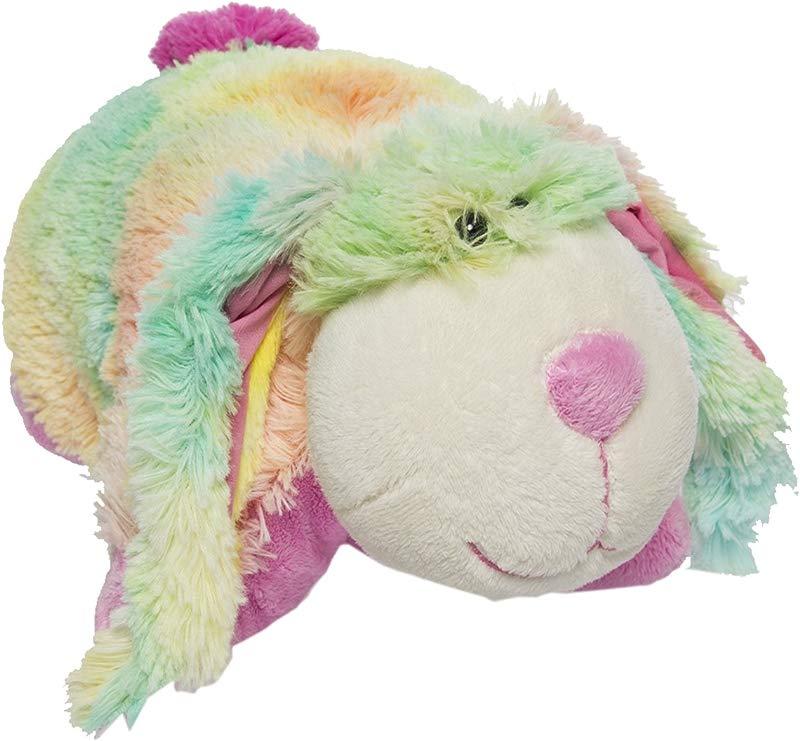 My Pillow Pets Pee Wee Rainbow Bunny 11