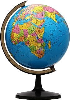 "World Globe ، 13 ""Globe of Perfect Spinning Globe for Kids ، معلم جغرافیا ، دانش آموزان ، چرخش آسان"