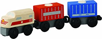 PlanToys Plancity Push and Pull Cargo Train