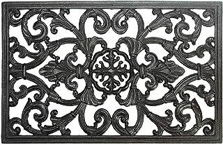 Sungmor Heavy Duty Cast Iron Doormat - 57.5CM/22.6IN. Large Rectangle Front Door Mat - Non-Slip Outside Mat Shoe Scraper -...