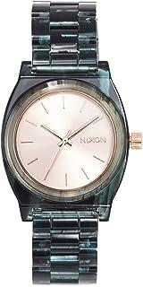 Nixon Women's Medium Time Teller Watch, 35mm, Aqua, One Size