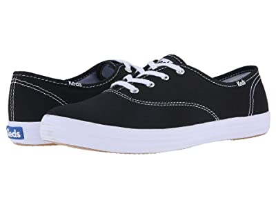 Keds Champion-Canvas CVO (Black Canvas) Women
