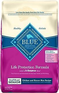 Blue Buffalo Life Protection Formula Small Breed Senior Dog Food � Natural Dry Dog Food for Senior Dogs � Chicken and Brown Rice � 15 lb. Bag