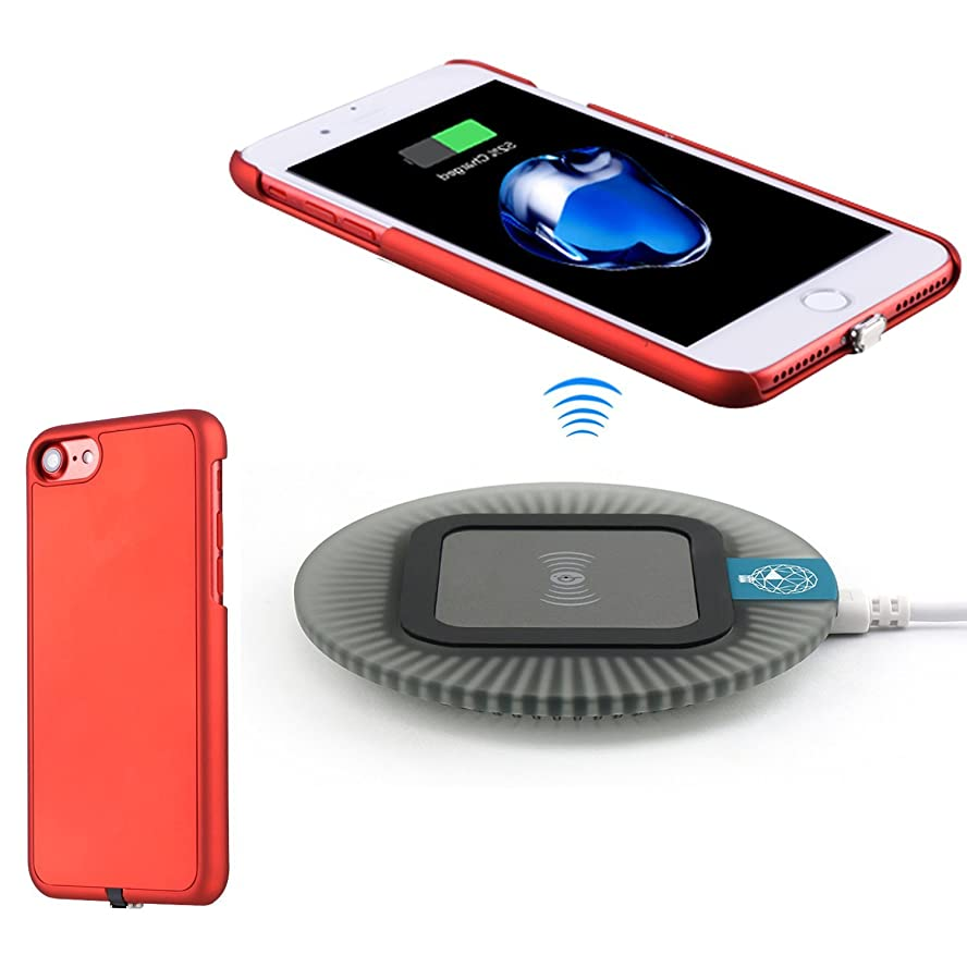 を必要としていますシフトカナダワイヤレス充電器、Apple iPhone 7(4.7インチ)Qiワイヤレス充電器キット、 を含む [取り外し可能な雷コネクタ]ワイヤレス充電レシーバケースと[スリープフレンドリー]ワイヤレス充電器パッド (iPhone 7, 黒)