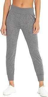 Jessica Simpson Sportswear Women's Jodie Jogger Sweatpant, Heather