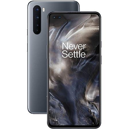 "OnePlus NORD (5G) Smartphone 6.44"" Fluid AMOLED Display 90Hz, 8GB RAM + 128GB Storage, Quad Camera, Warp Charge 30T, Dual Sim, 5G, Grigio (Gray Onyx)"