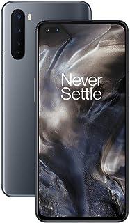 Teléfono OnePlus NORD (5G) 12GB RAM 256GB, Cámara Cuádruple, Dual SIM. Ahora con Alexa - 2 Años de Garantía - Gris Onix
