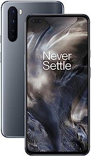 "OnePlus NORD Smartphone Onyx Grey | 6.44"" Fluid AMOLED Display 90Hz |8GB RAM + 128GB Opslag | Quad Camera| Warp Charge 30T..."