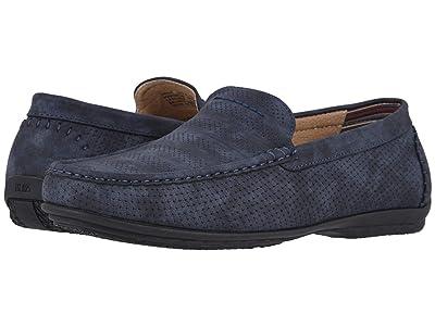 Stacy Adams Cirrus Moc Toe Slip-On Loafer (Navy) Men